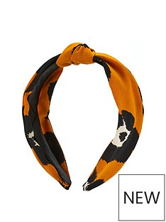 v-by-very-leopard-knot-front-headband