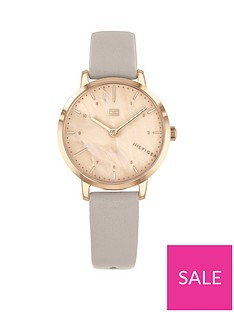 tommy-hilfiger-tommy-hilfiger-lily-blush-mother-of-pearl-and-carnation-gold-detail-dial-grey-leather-strap-ladies-watch