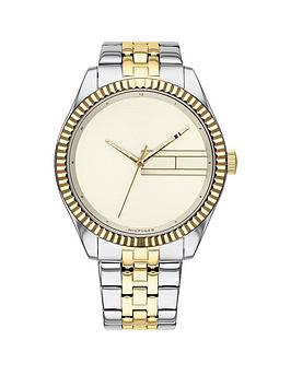 tommy-hilfiger-tommy-hilfiger-lee-gold-sunray-dial-two-tone-stainless-steel-bracelet-ladies-watch