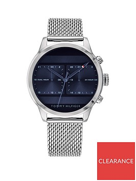 tommy-hilfiger-tommy-hilfiger-icon-blue-multi-dial-stainless-steel-mesh-bracelet-mens-watch