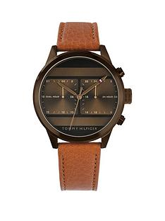 tommy-hilfiger-tommy-hilfiger-icon-bronze-multi-dial-tan-leather-strap-mens-watch