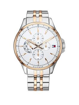 tommy-hilfiger-silver-and-carnation-gold-chronograph-dial-two-tone-stainless-steel-bracelet-mens-watch