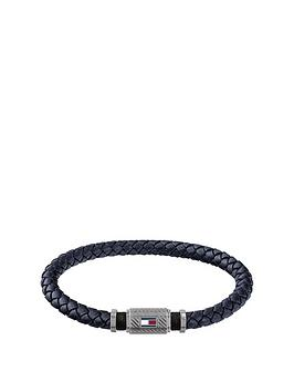 tommy-hilfiger-rivet-detail-leather-bracelet