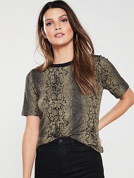 v-by-very-snake-print-t-shirt-khaki
