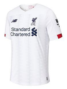1bdfeba08fd28 New Balance New Balance Liverpool Fc Mens 19/20 Away Short Sleeved Shirt