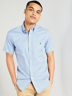 lauren-by-ralph-lauren-short-sleeved-button-down-collar-shirt-blue