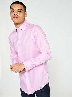 lauren-by-ralph-lauren-long-sleeved-spread-collar-fitted-shirt-pink