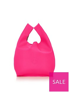 hill-friends-happy-shopper-bag-pink