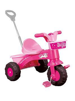 dolu-pink-unicorn-my-first-trike-with-handle