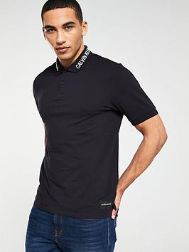 calvin-klein-jeans-embroidered-collar-polo-navy
