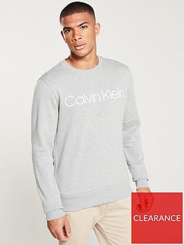 calvin-klein-logo-crew-neck-sweatshirt-heather-grey
