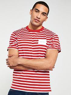 calvin-klein-fashion-stripe-relax-fit-t-shirt-redwhite
