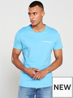 cce84f976cea4 Calvin Klein Jeans Institutional Logo T-Shirt - Alaskan Blue