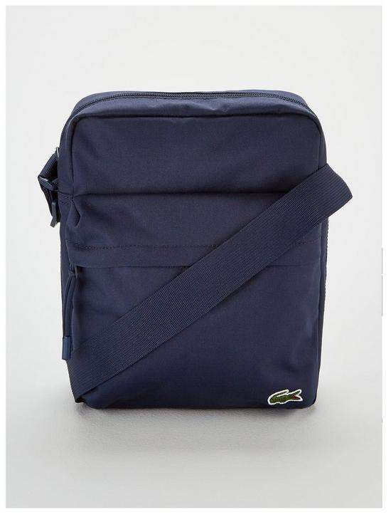 c6c679bd37565 Lacoste Crossbody Bag - Navy