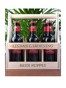 personalised-wooden-beer-trug
