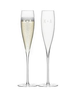 lsa-personalised-lsa-set-of-2-savoy-champagne-flutes