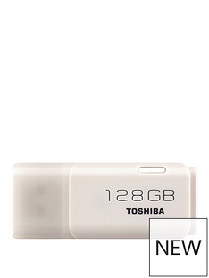Toshiba TransMemory U202 128GbUSB 2.0- White