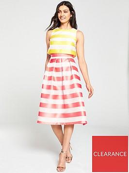 v-by-very-stripe-jacquard-prom-dress-pinkyellownbspbr-br