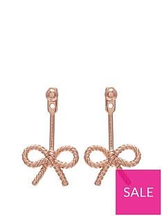 olivia-burton-olivia-burton-18kt-rose-gold-vintage-bow-jacket-earrings