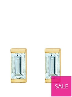 love-gem-gold-plated-sterling-silver-aquamarine-baguette-stone-stud-earrings