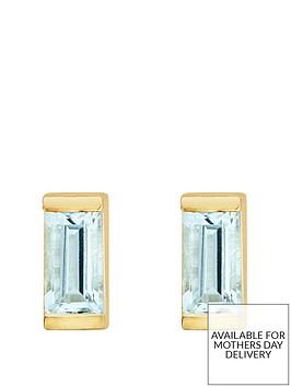 love-gem-gold-plated-sterling-silver-aquamarine-baguette-stone-stud-earrings