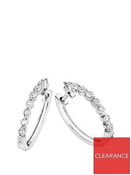 love-diamond-sterling-silver-10-point-diamond-bubble-huggie-hoop-earrings