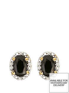 love-gem-9ct-gold-black-sapphire-and-diamond-set-stud-earrings