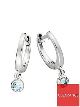 love-gem-sterling-silver-huggie-hoop-earrings-with-blue-topaz-charm