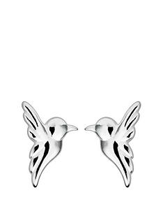 the-love-silver-collection-sterling-silver-hummingbird-stud-earrings