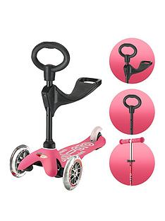 Micro Scooter 3 IN 1 Mini Deluxe - Pink