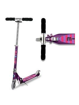 Micro Scooter Micro Sprite - Purple Stripe