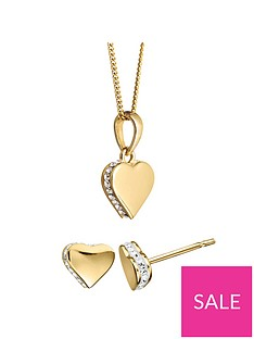 evoke-gold-plated-sterling-silver-swarovski-crystal-heart-earrings-necklace-set