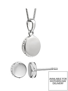 evoke-sterling-silver-swarovski-crystal-round-earrings-necklace-set