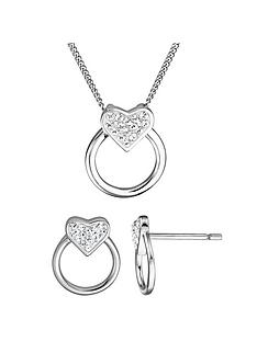 evoke-sterling-silver-swarovski-crystal-heart-circle-earrings-necklace-set
