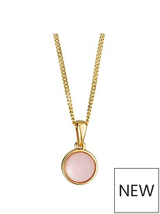 love-gem-gold-plated-sterling-silver-pink-opal-pendant-necklace