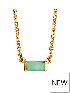 love-gem-gold-plated-sterling-silver-emerald-baguette-stone-pendant-necklace