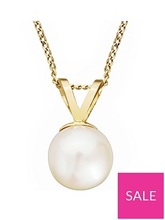 love-pearl-9ct-gold-freshwater-pearl-pendant-necklace