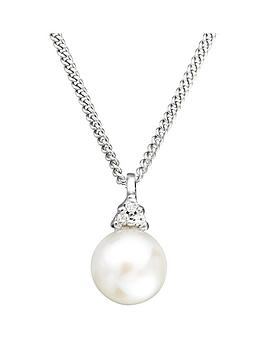 love-pearl-9ct-white-gold-freshwater-pearl-diamond-set-pendant-necklace