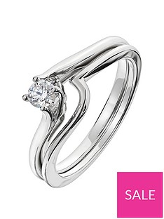 love-diamond-9ct-white-gold-18-point-diamond-twist-bridal-set