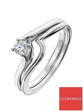 love-diamond-9ct-white-gold-18-point-diamond-twist-bridal-set