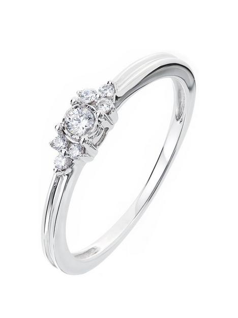 love-diamond-9ct-white-gold-11-point-diamond-solitaire-ring-with-trefoil-shoulder-detail