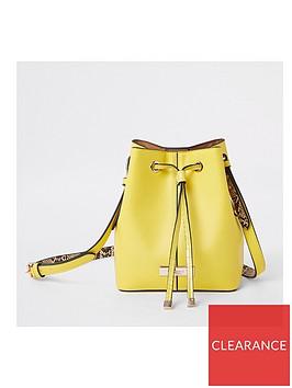 river-island-river-island-bucket-cross-body-bag-yellow