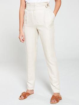 v-by-very-linen-tapered-leg-trouser-natural