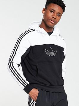 adidas-originals-spirit-mixed-hoodienbsp--black