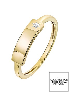 love-diamond-9ct-gold-diamond-set-star-id-bar-ring