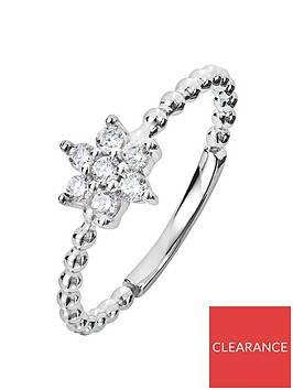 the-love-silver-collection-sterling-silver-cubic-zirconia-flower-beaded-ring