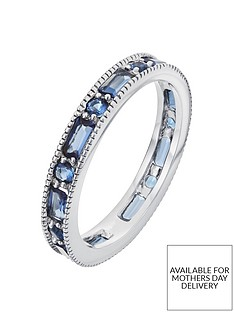 the-love-silver-collection-sterling-silver-glass-sapphire-eternity-ring