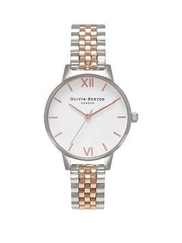 olivia-burton-olivia-burton-white-and-rose-gold-detail-midi-dial-stainless-steel-mesh-strap-ladies-watch