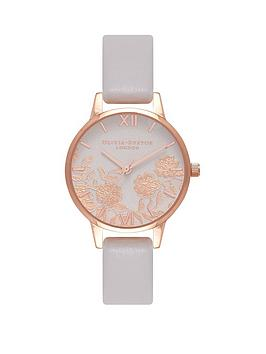 olivia-burton-olivia-burton-white-and-rose-gold-lace-dial-white-leather-strap-ladies-watch