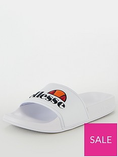ellesse-filippo-sliders-white